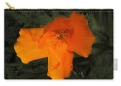 Bright California Poppy Carry-all Pouch
