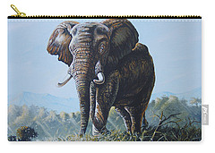 Bright Morning Carry-all Pouch by Anthony Mwangi