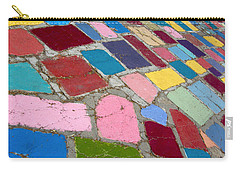 Bright Paving Stones Carry-all Pouch