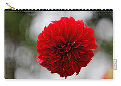 Bright Red Dahlia Carry-all Pouch
