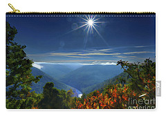 Bright Sun In Morning Cheat River Gorge Carry-all Pouch