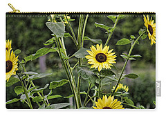 Bright Sunflowers Carry-all Pouch