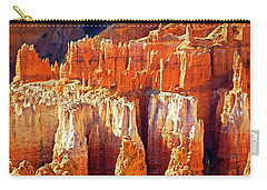 Carry-all Pouch featuring the photograph Brilliant Bryce by Marty Koch