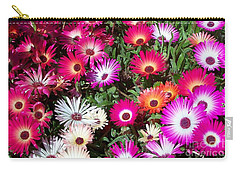 Brilliant Flowers Carry-all Pouch by Chalet Roome-Rigdon