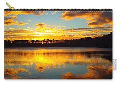 Brilliant Sunrise Carry-all Pouch by Dianne Cowen