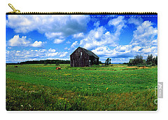 Carry-all Pouch featuring the photograph Brimley Farm Near  Sault Ste Marie Michigan  by Tom Jelen