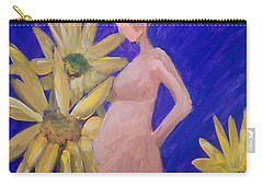 Bringer Of Life Carry-all Pouch by Marisela Mungia