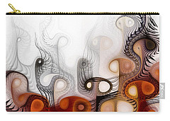 Carry-all Pouch featuring the digital art Bringers Of Prophecy by NirvanaBlues