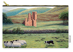 Carry-all Pouch featuring the painting Bringing Them Home by Fran Brooks