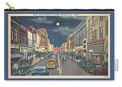 Bristol At Night In The 1940's Carry-all Pouch