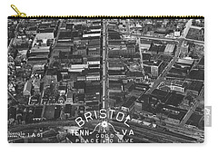 Bristol Virginia Tennessee Early Aerial Photo Carry-all Pouch