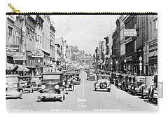 Bristol Virginia Tennessee State Street 1931 Carry-all Pouch