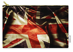 British Flag  Carry-all Pouch by Les Cunliffe