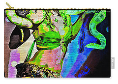 Britney Neon Dancer Carry-all Pouch