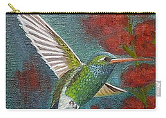 Broad-billed Hummingbird Carry-all Pouch by Fran Brooks
