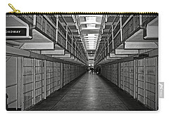 Broadway Walkway In Alcatraz Prison Carry-all Pouch