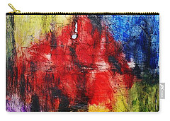 Carry-all Pouch featuring the painting Broken 4 by Michael Cross