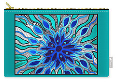 Broken Angel Blooms Carry-all Pouch