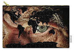 Broken World Puzzle Carry-all Pouch