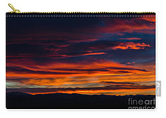 Bronco Sunset Carry-all Pouch