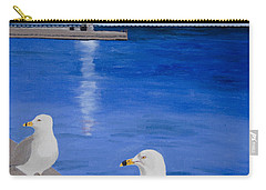 Bronte Lighthouse Gulls In Oil Carry-all Pouch
