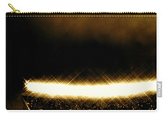 Bronx Storm Yankee Stadium  Carry-all Pouch by Iconic Images Art Gallery David Pucciarelli