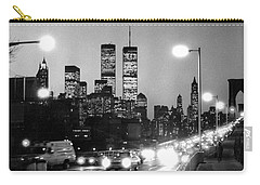 Brooklyn Bridge Traffic II Dusk 1980s Carry-all Pouch