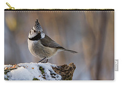 Brown Eyed Girl Carry-all Pouch by Torbjorn Swenelius