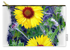 Brown- Eyed Susans Carry-all Pouch
