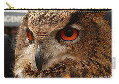 Carry-all Pouch featuring the photograph Brown Owl by Vicki Spindler