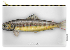 Brown Trout - Salmo Trutta Morpha Fario - Salmo Trutta Fario - Game Fish - Flyfishing Carry-all Pouch