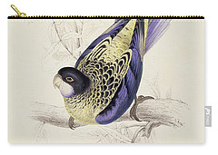 Browns Parakeet Carry-all Pouch by Edward Lear