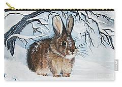 Brrrr Bunny Carry-all Pouch