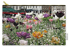 Carry-all Pouch featuring the photograph Brugge In Spring by Ausra Huntington nee Paulauskaite