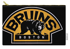 Carry-all Pouch featuring the photograph Bruins In Boston by Caroline Stella