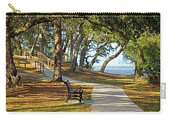 Carry-all Pouch featuring the photograph Brunswick Town by Cynthia Guinn