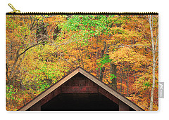Brush Creek Covered Bridge Carry-all Pouch