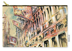 Brussels Grand Place - Watercolor Carry-all Pouch