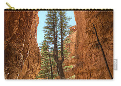 Carry-all Pouch featuring the photograph Bryce Canyon Trees by Tammy Wetzel