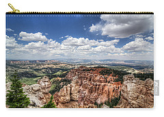 Carry-all Pouch featuring the photograph Bryce Point by Tammy Wetzel