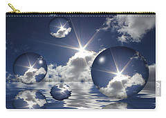 Bubbles In The Sun Carry-all Pouch