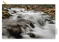 Bubbling Mountain Stream Carry-all Pouch