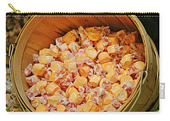 Carry-all Pouch featuring the photograph Bucket Of Taffy by Cynthia Guinn