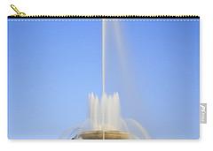 Buckingham Fountain Carry-all Pouch by Adam Romanowicz