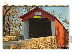 Bucks County Van Sant Covered Bridge Carry-all Pouch