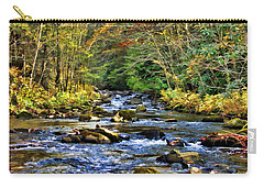 Carry-all Pouch featuring the photograph Bucks Creek by Kenny Francis