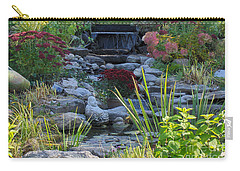 Carry-all Pouch featuring the photograph Buddha Water Pond by Brenda Brown