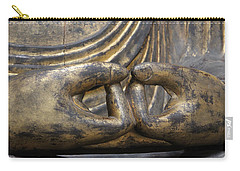 Carry-all Pouch featuring the photograph Buddha 3 by Lynn Sprowl