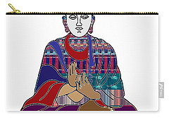 Buddha In Meditation Buddhism Master Teacher Spiritual Guru By Navinjoshi At Fineartamerica.com Carry-all Pouch