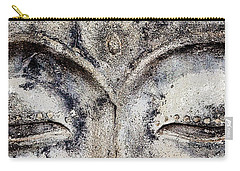 Carry-all Pouch featuring the photograph Buddha Eyes by Roselynne Broussard